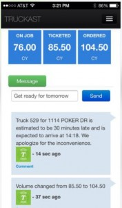 Truckast - Much More Than A Concrete Ordering App